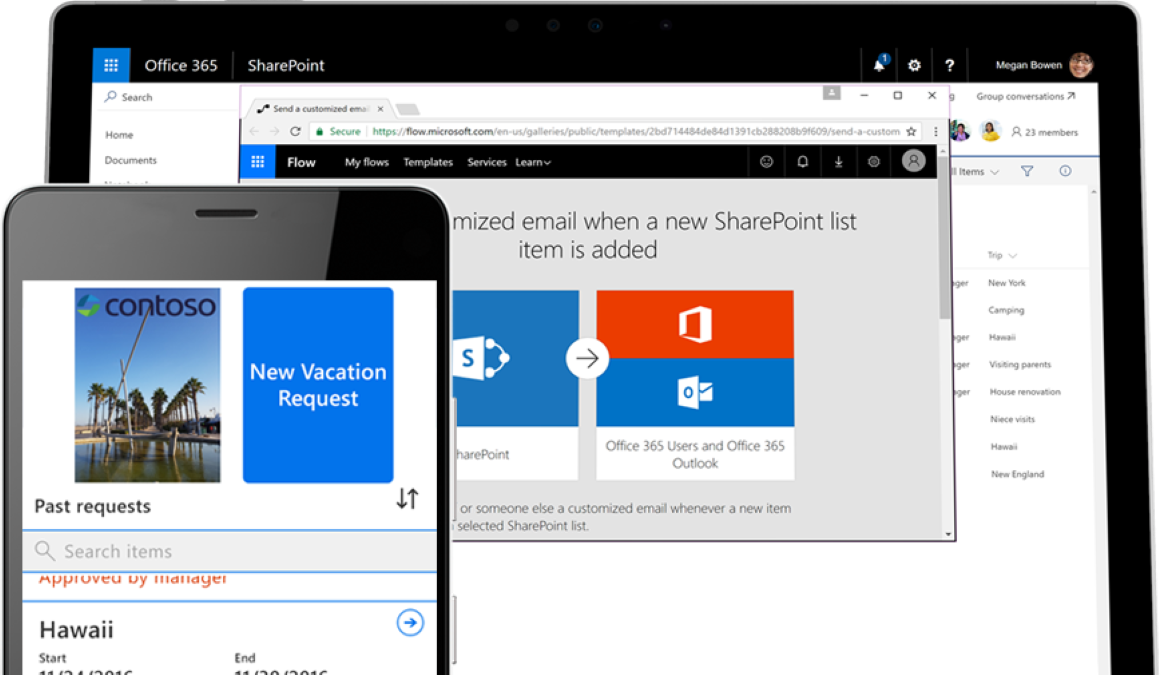 Transforme os processos corporativos com Microsoft Sharepoint